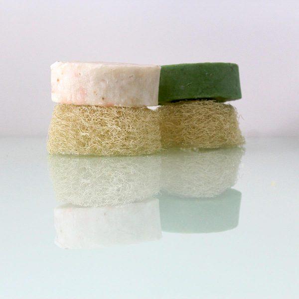 Esponja luffa natural. Perfecta para exfoliar la piel.